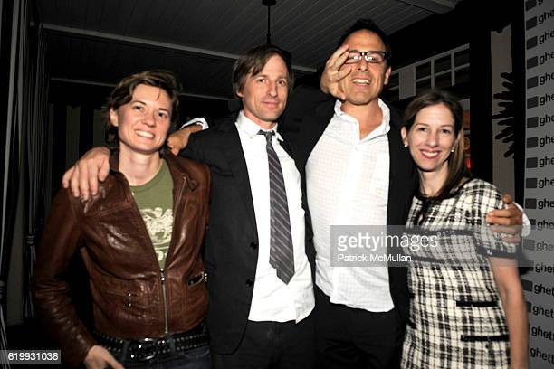 Kimberly Peirce Spike Jonze David O'Russell and Alli Shearmur attend Ghetto Film School West Coast Benefit 2008 at Private Residence on October 16...