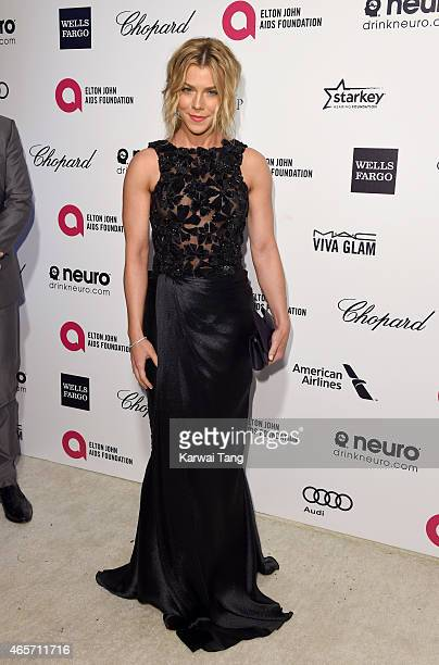 Kimberly Perry attends the Elton John AIDS Foundation's 23rd annual Academy Awards Viewing Party at The City of West Hollywood Park on February 22...