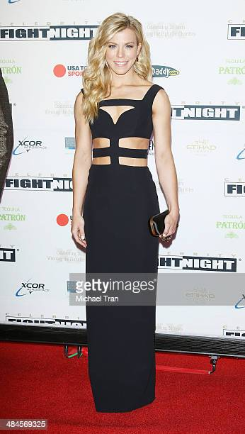 Kimberly Perry of The Band Perry arrives at the Celebrity Fight Night XX held at JW Marriott Desert Ridge Resort Spa on April 12 2014 in Phoenix...
