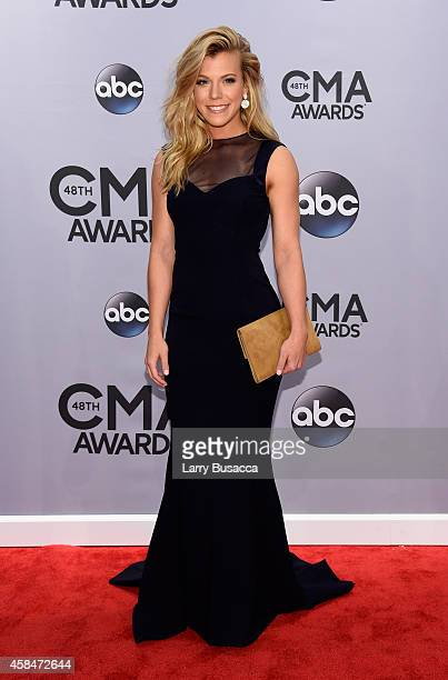 Kimberly Perry of The Band Perry attends the 48th annual CMA Awards at the Bridgestone Arena on November 5 2014 in Nashville Tennessee
