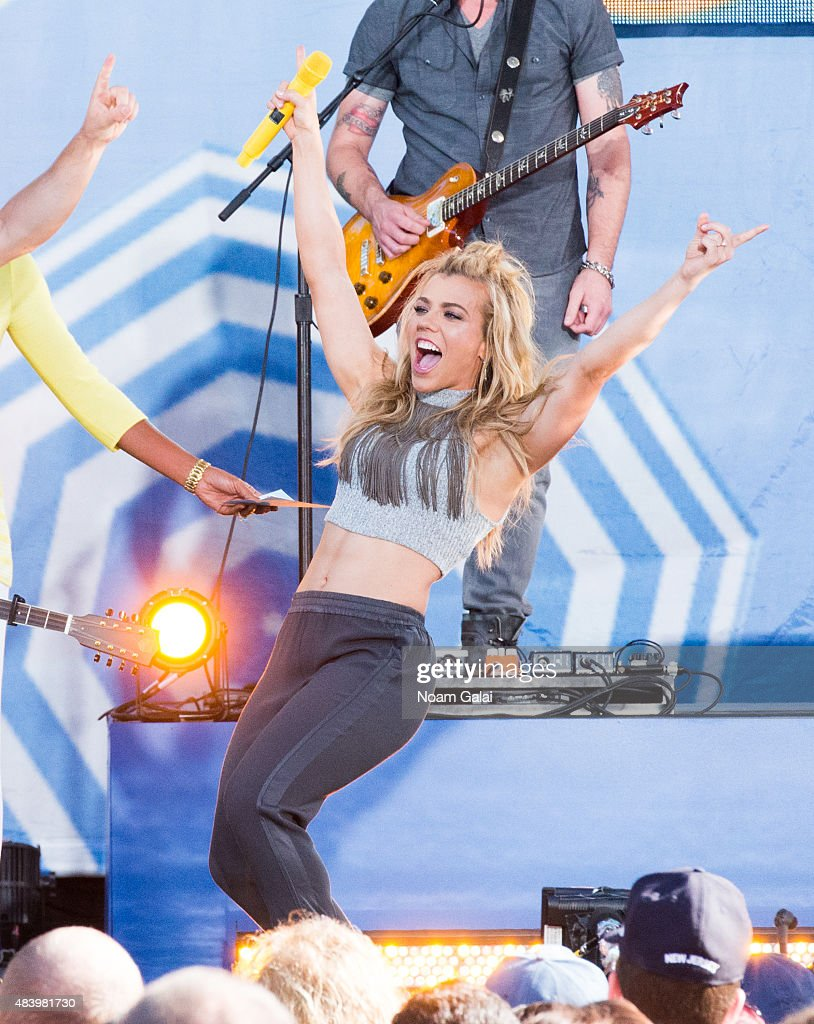 "The Band Perry Performs On ABC's ""Good Morning America"""