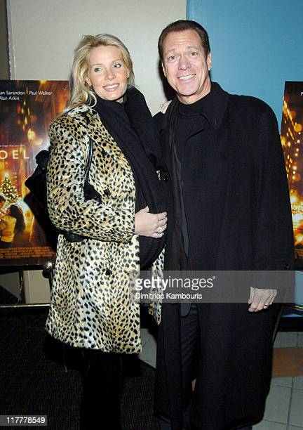 Kimberly Piscopo and Joe Piscopo during Noel New York City Premiere Arrivals at Regal United Artist Battery Park City Stadium 16 in New York City New...