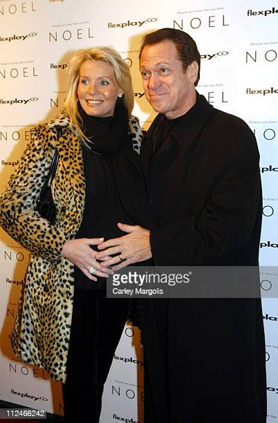 Kimberly Piscopo and Joe Piscopo during Noel New York Premiere at Regal United Artist Battery Park City Stadium 16 in New York City New York United...
