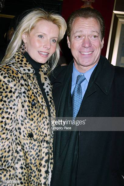 Kimberly Piscopo and Joe Piscopo during Raging Bull 25th Anniversary and Collector's Edition DVD Release Celebration Inside Arrivals at Ziegfeld...