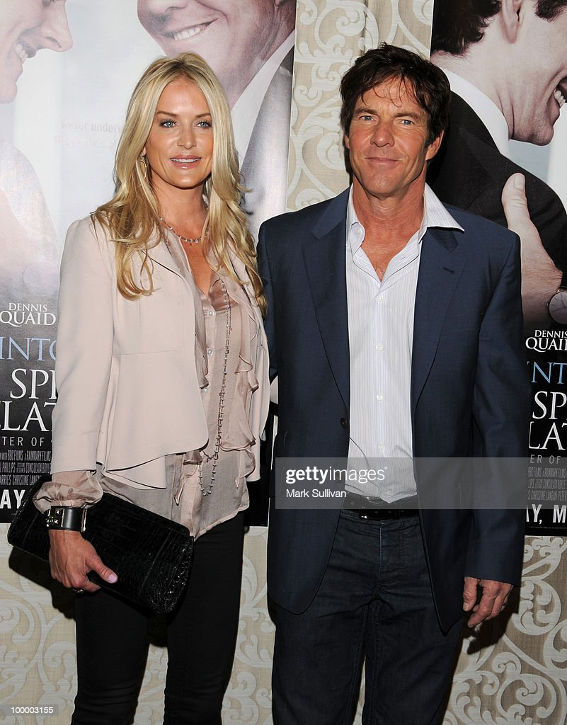 Kimberly Quaid and actor Dennis Quaid attend HBO Film's 'The Special Relationship' Los Angeles Premiere at Directors Guild Theatre on May 19, 2010 in West Hollywood, California.