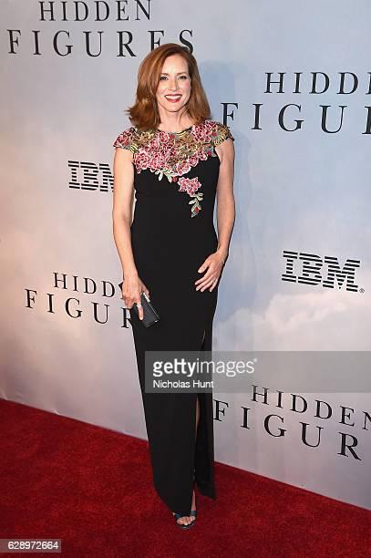 Kimberly Quinn attends the Hidden Figures New York Special Screening on December 10 2016 in New York City