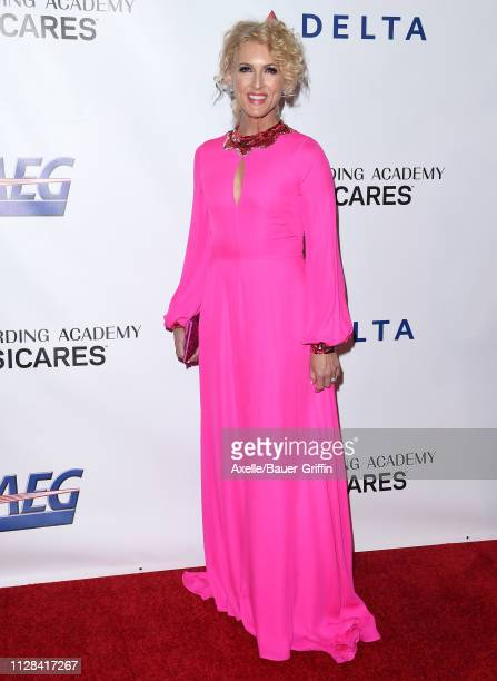 Kimberly Schlapman attends MusiCares Person of the Year honoring Dolly Parton at Los Angeles Convention Center on February 08 2019 in Los Angeles...