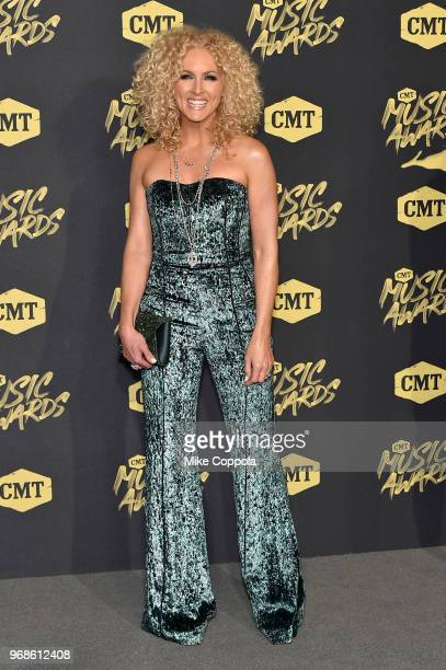 Kimberly Schlapman attends the 2018 CMT Music Awards at Bridgestone Arena on June 6 2018 in Nashville Tennessee