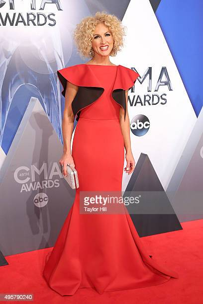 Kimberly Schlapman attends the 49th annual CMA Awards at the Bridgestone Arena on November 4 2015 in Nashville Tennessee