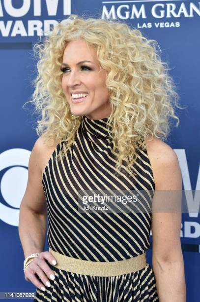 Kimberly Schlapman attends the 54th Academy Of Country Music Awards at MGM Grand Hotel & Casino on April 07, 2019 in Las Vegas, Nevada.