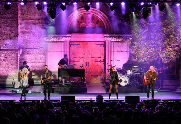 CA: Little Big Town Performs At Mountain  Winery