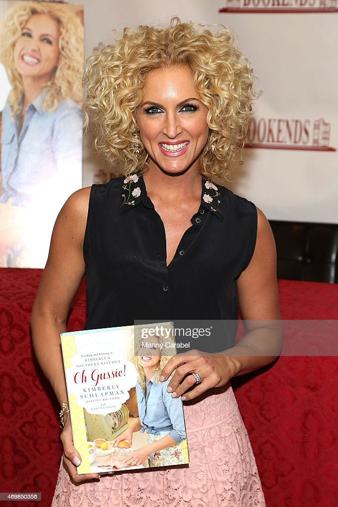 """Kimberly Schlapman Signs Copies Of Her New Cookbook """"Oh Gussie!"""""""