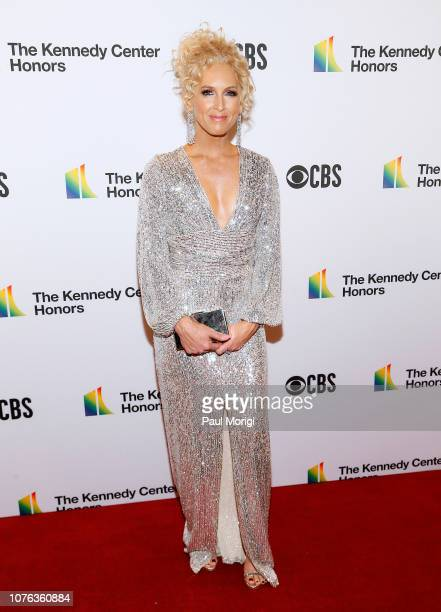 Kimberly Schlapman of Little Big Town arrives at the 2018 Kennedy Center Honors at The Kennedy Center on December 02 2018 in Washington DC