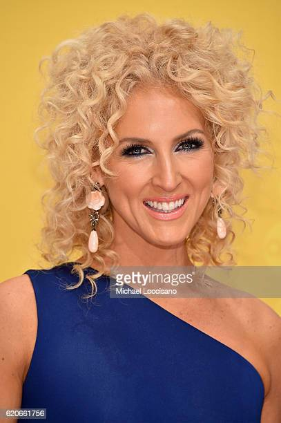 Kimberly Schlapman of Little Big Town attends the 50th annual CMA Awards at the Bridgestone Arena on November 2 2016 in Nashville Tennessee