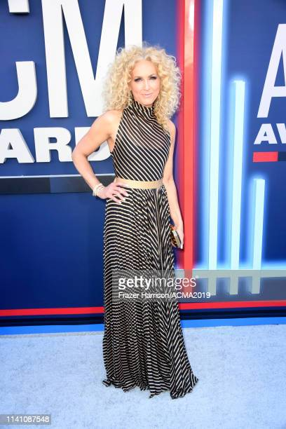 Kimberly Schlapman of Little Big Town attends the 54th Academy Of Country Music Awards at MGM Grand Garden Arena on April 07 2019 in Las Vegas Nevada