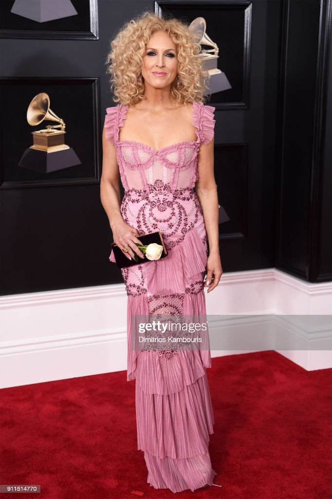 Kimberly Schlapman of Little Big Town attends the 60th Annual GRAMMY Awards at Madison Square Garden on January 28, 2018 in New York City.
