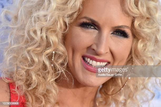 Kimberly Schlapman of Little Big Town attends the sixth biennial Stand Up To Cancer telecast at the Barker Hangar on Friday September 7 2018 in Santa...