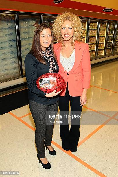 Kimberly Schlapman of Little Big Town lends a Ham with Smithfield on November 17 2014 in College Park Maryland