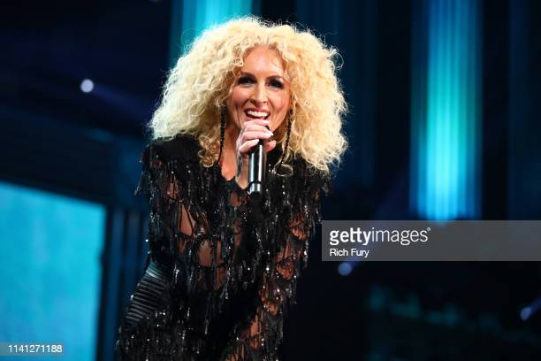 Kimberly Schlapman of Little Big Town performs onstage during the 2019 iHeartCountry Festival Presented by Capital One at the Frank Erwin Center on...