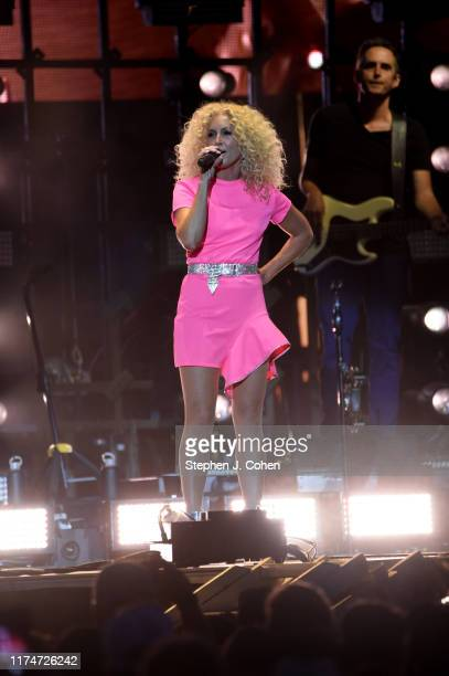 Kimberly Schlapman of the band Little Big Town performs during the inaugural 2019 Hometown Rising Country Music Bourbon Festival at Highland Festival...