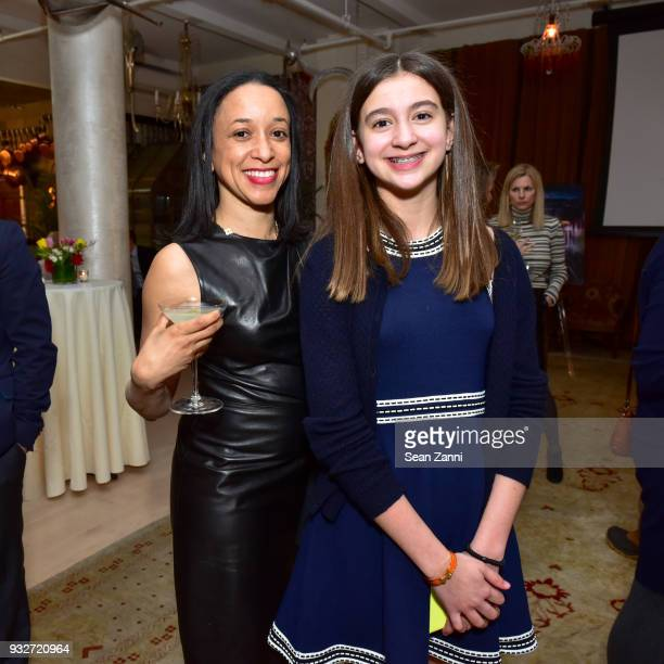 Kimberly Spacek and Lily Babu attend 'The Initiation' Book Launch at Bouley TK on March 15 2018 in New York City