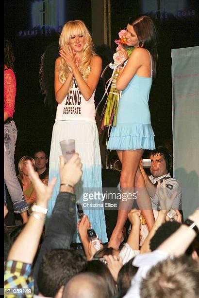 Kimberly Stewart and Nicky Hilton wearing Chick by Nicky Hilton