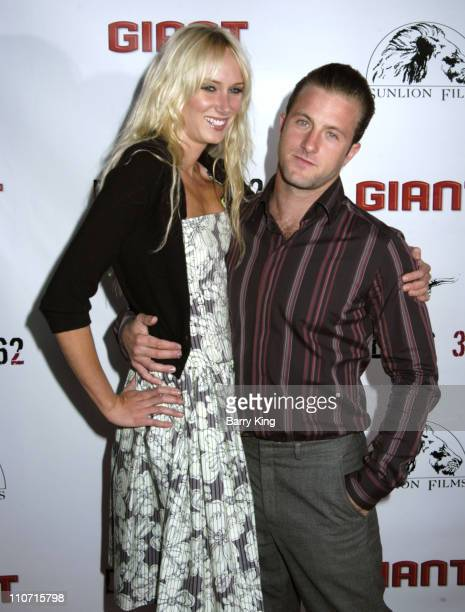 Kimberly Stewart and Scott Caan during 'Dallas 362' Los Angeles Premiere Arrivals at The ArcLight in Hollywood California United States