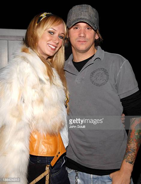 Kimberly Stewart and Sean Stewart at Domino Magazine's Party Honoring Lara Shriftman and Elizabeth Harrison's New Book Party Confidential *EXCLUSIVE*