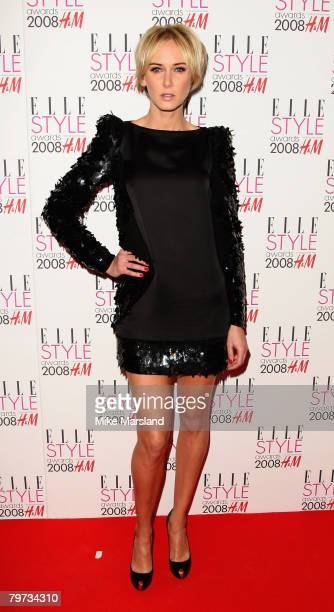 Kimberly Stewart arrives at the Elle Style Awards 2008 at The Westway on February 12 2008 in London England