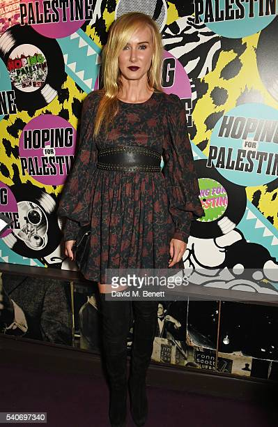 Kimberly Stewart attends 'Hoping's Greatest Hits' the 10th anniversary of The Hoping Foundation's fundraising event for Palestinian refugee children...