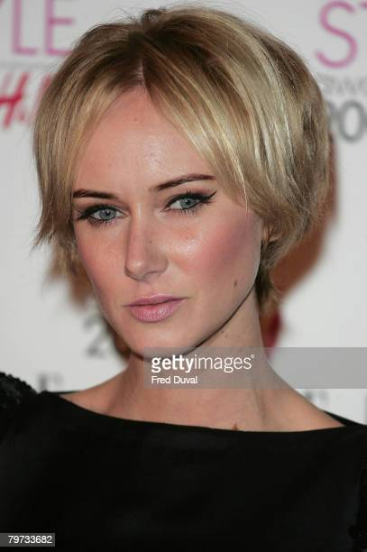 Kimberly Stewart attends the Elle Style Awards 2008 at the Westway off Latimer Road February 13 2008 in London England