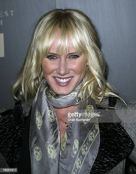 Kimberly Stewart attends Trump Vodka launch party at Les Deux on January 17, 2007 in Los Angeles, California.