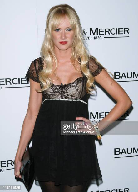 Kimberly Stewart during Baume Mercier Preview 2006 Fall Collection Party Hosted by Molly Sims October 26 2006 at Area Nightclub in West Hollywood...