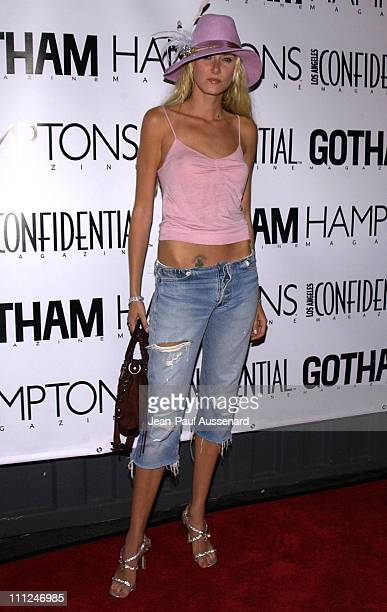 Kimberly Stewart during LA Confidential Emmy / Fall Fashion Cover Party at Shelter Supper Club in West Hollywood California United States
