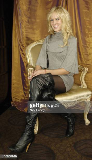 Kimberly Stewart during Gina Shoe's 50th Birthday Party at The Bar at The Dorchester at Dorchester Hotel in London Great Britain