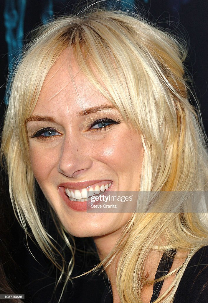 Kimberly Stewart during 'House of Wax' - Los Angeles Premiere - Arrivals at Mann Village Theatre in Westwood, California, United States.
