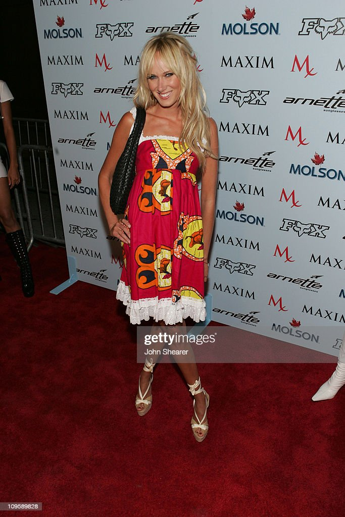 Kimberly Stewart during Maxim Magazine Celebrates The 2005 X-Games at Cabana Club in Los Angeles, California, United States.