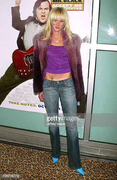 Kimberly Stewart during School of Rock Premiere Arrivals at Cinerama Dome in Hollywood California United States