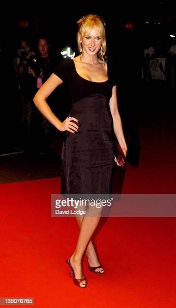 Kimberly Stewart during 'The Devil Wears Prada' London Gala Screening at Odeon Leicester Square in London Great Britain