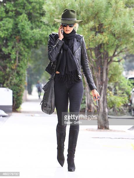 Kimberly Stewart is seen in Beverly Hills on December 10 2014 in Los Angeles California