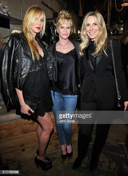 Kimberly Stewart Melanie Griffith and Alana Stewart attend Church Boutique and Sama Eyewear celebration 'Shades Bubbles And Baubles' for Loree...