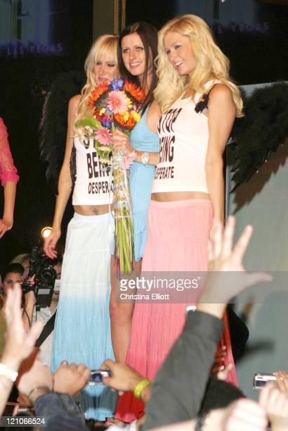 Kimberly Stewart Nicky Hilton and Paris Hilton wearing Chick by Nicky Hilton
