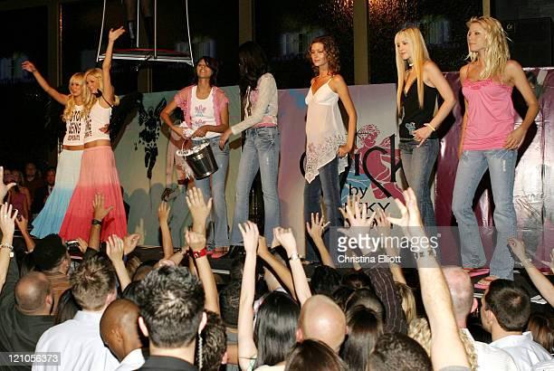 Kimberly Stewart Paris Hilton and models wearing Chick by Nicky Hilton