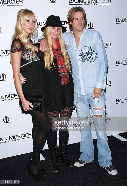 Kimberly Stewart Ruby Stewart and Sean Stewart during Baume Mercier Preview 2006 Fall Collection Party Hosted by Molly Sims October 26 2006 at Area...