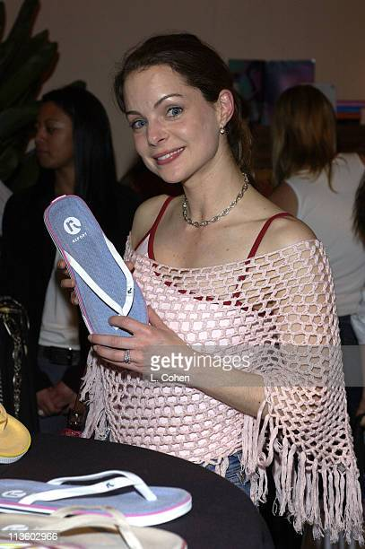 Kimberly Williams at Report during The Oxygen Celebrity Dodgeball Tournament to Benefit the Elizabeth Glaser Pediatric AIDS Foundation Celebrity Gift...