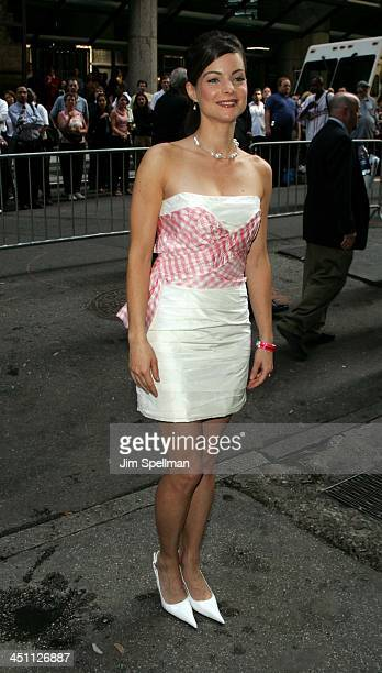 Kimberly Williams during ABC 20042005 Upfront at Cipriani's in New York City New York United States