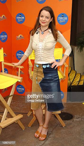 Kimberly Williams during ABC Primetime Preview Weekend Day 2 at Disney's California Adventure in Anaheim California United States