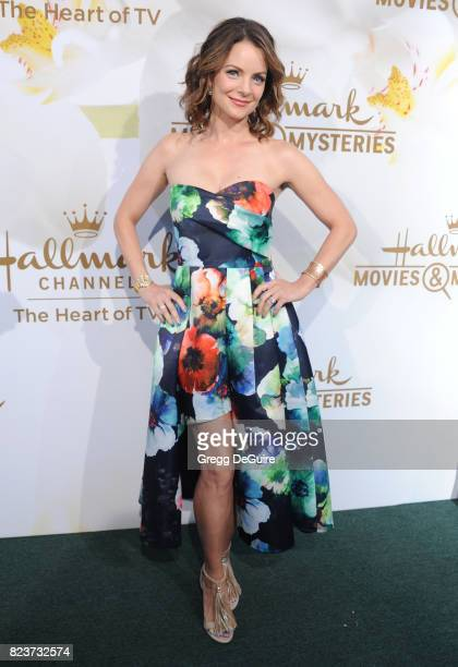 Kimberly WilliamsPaisley arrives at the 2017 Summer TCA Tour Hallmark Channel And Hallmark Movies And Mysteries at a private residence on July 27...
