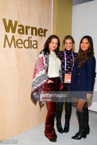 Kimberly WilliamsPaisley Ashley Williams and Olivia Munn attend the WarnerMedia and ATT Sundance KickOff Party at Lateral on January 24 2020 in Park...
