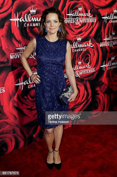 Kimberly WilliamsPaisley attend Hallmark Channel Movies and Mysteries Winter 2017 TCA Press Tour at The Tournament House on January 14 2017 in...